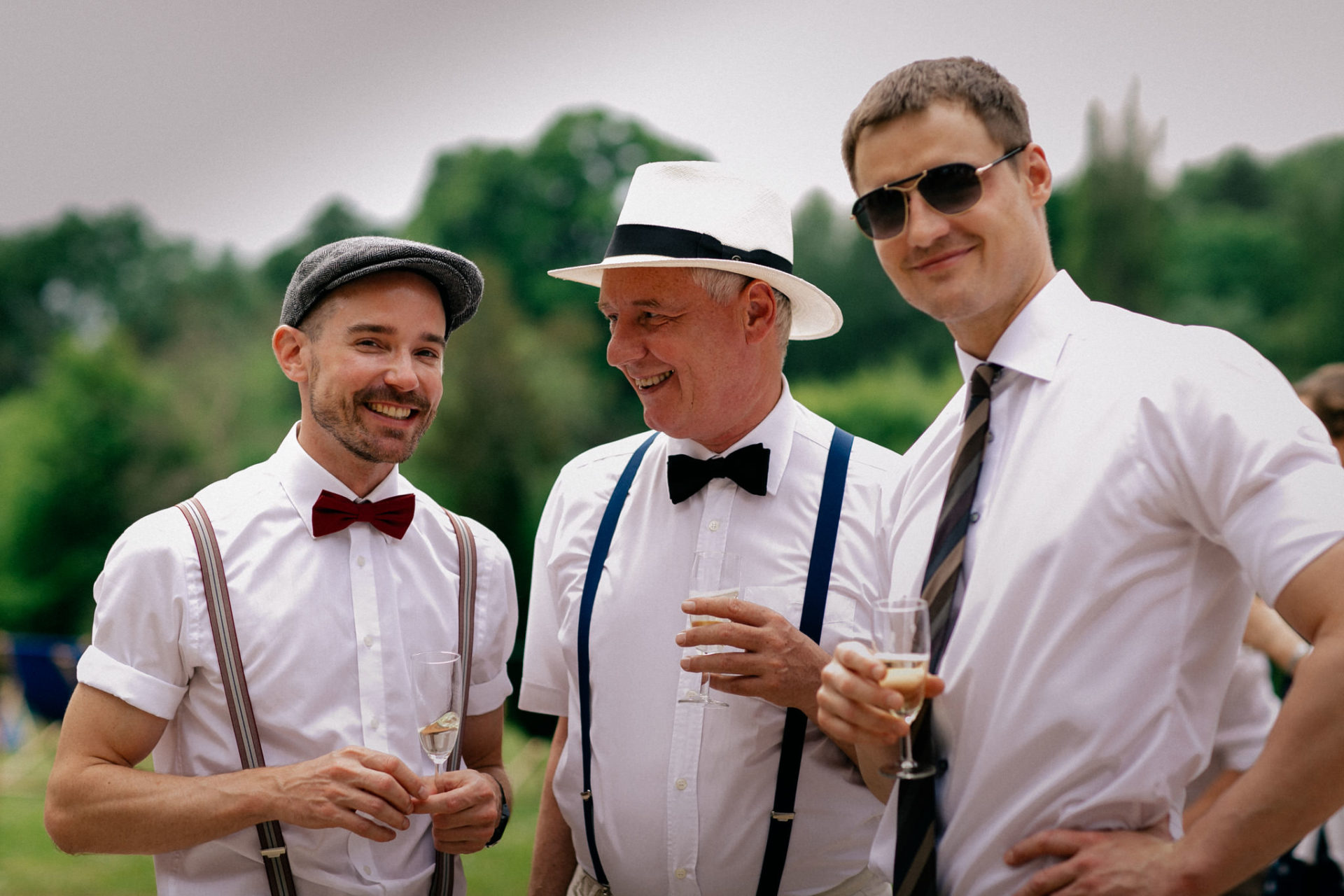 Stylish Gay Wedding in a Castle in Northern Germany
