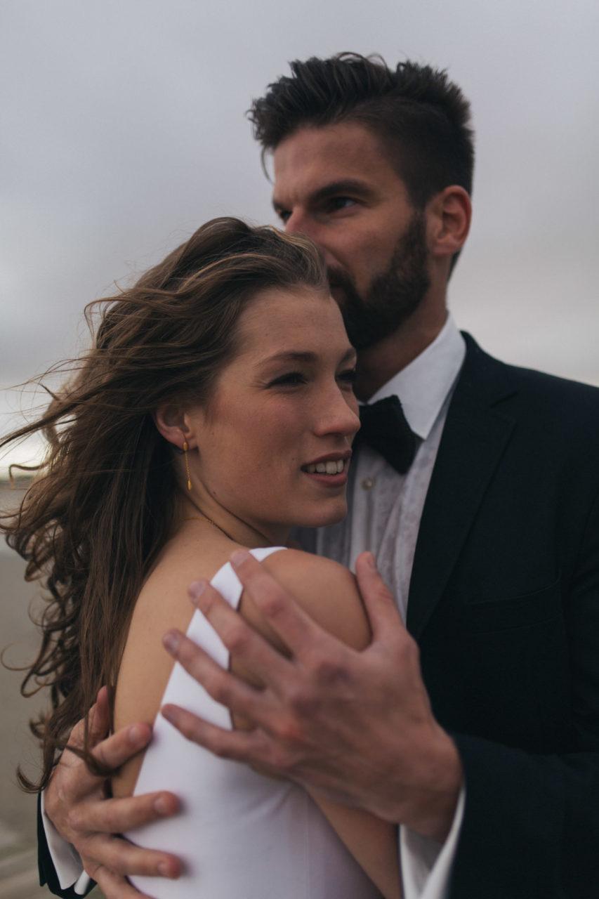 Elopement Hochzeit Nordsee Strand Elfenkleid SPO