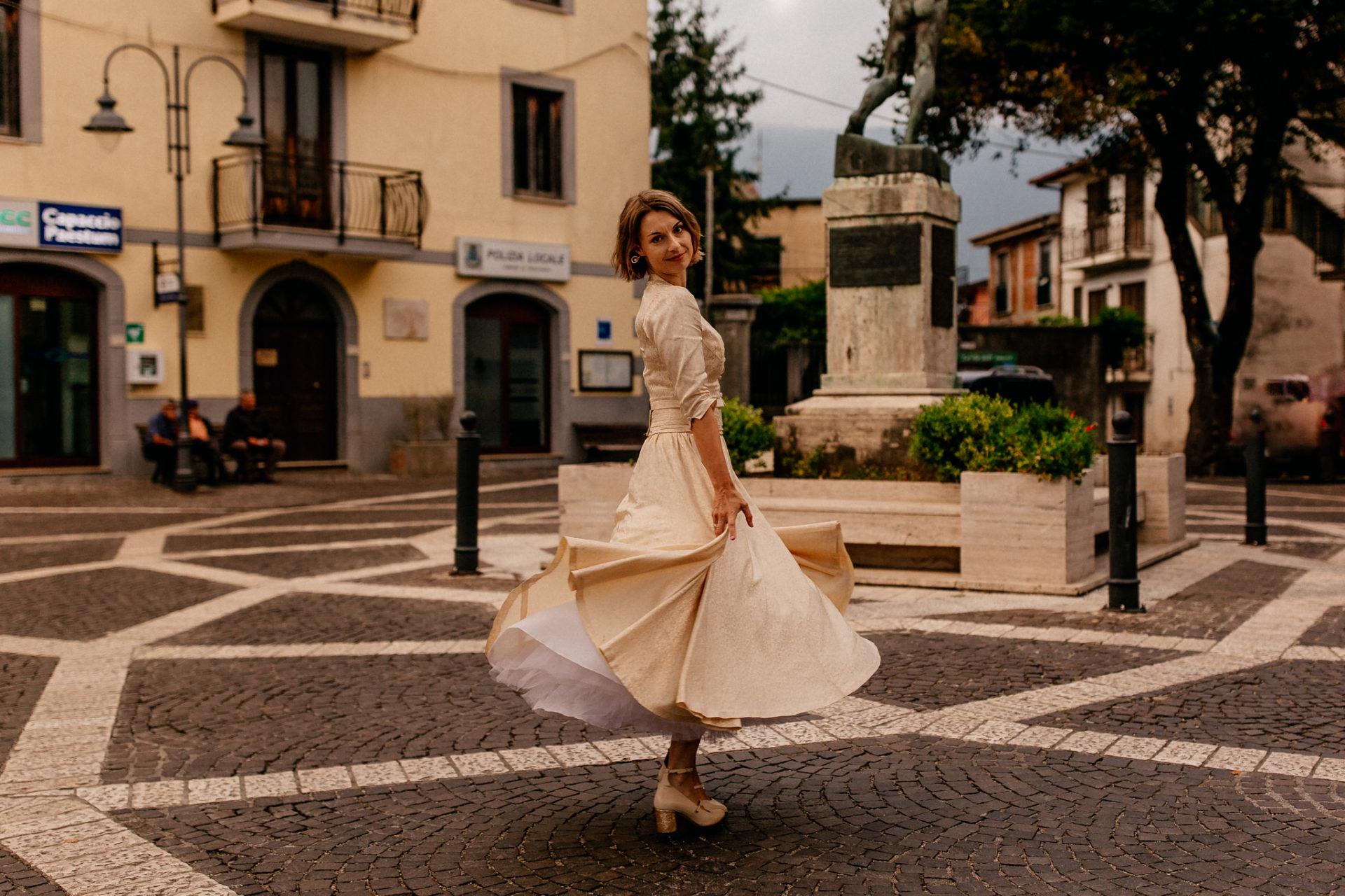 Hochzeitsfotograf Amalfi Küste-heiraten Italien-Paestum Hochzeit-Brautportraits Amalfi Küste