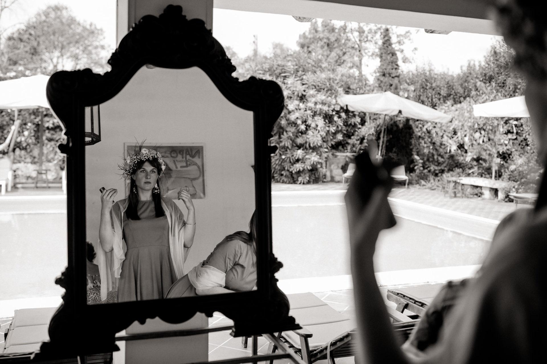 Hochzeitsfotograf Amalfi Küste-heiraten Italien-Paestum Hochzeit-braut getting ready