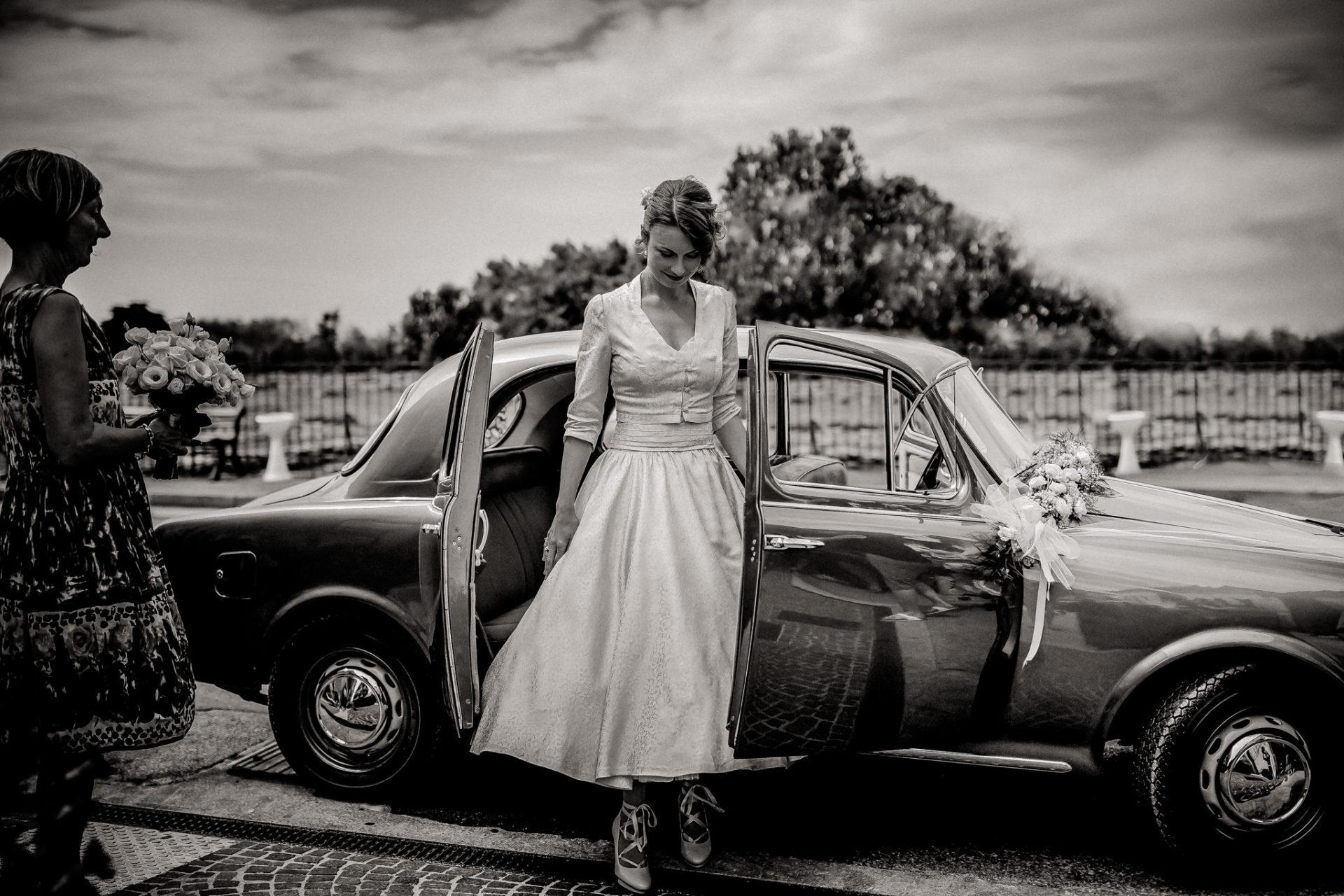 Hochzeitsfotograf Amalfi Küste-heiraten Italien-Paestum Hochzeit-Brautauto oldtimer