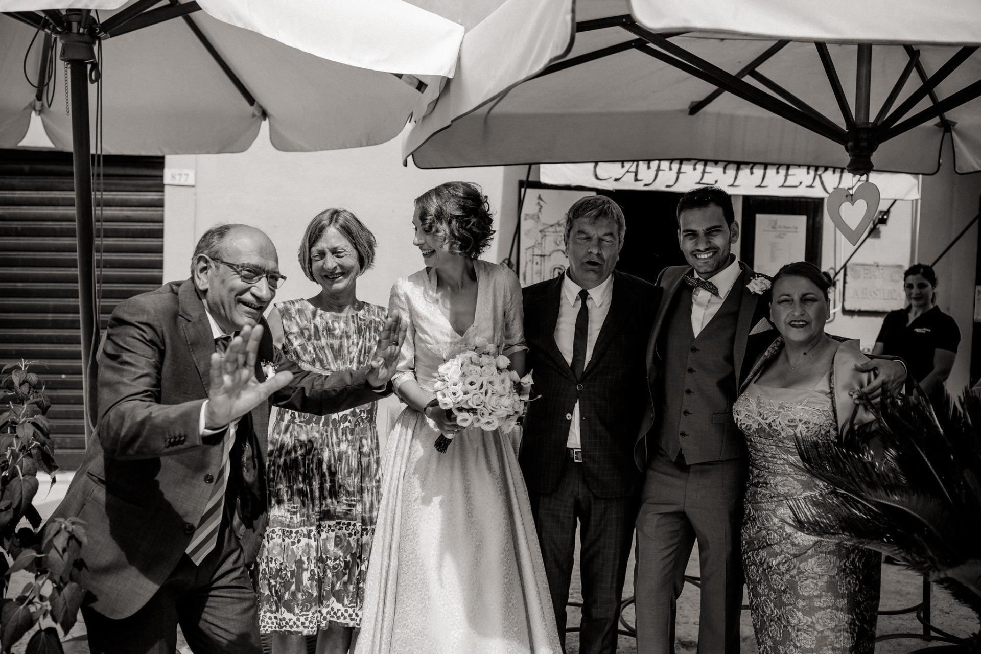 Hochzeitsfotograf Amalfi Küste-heiraten Italien-sektempfang Gratulationen