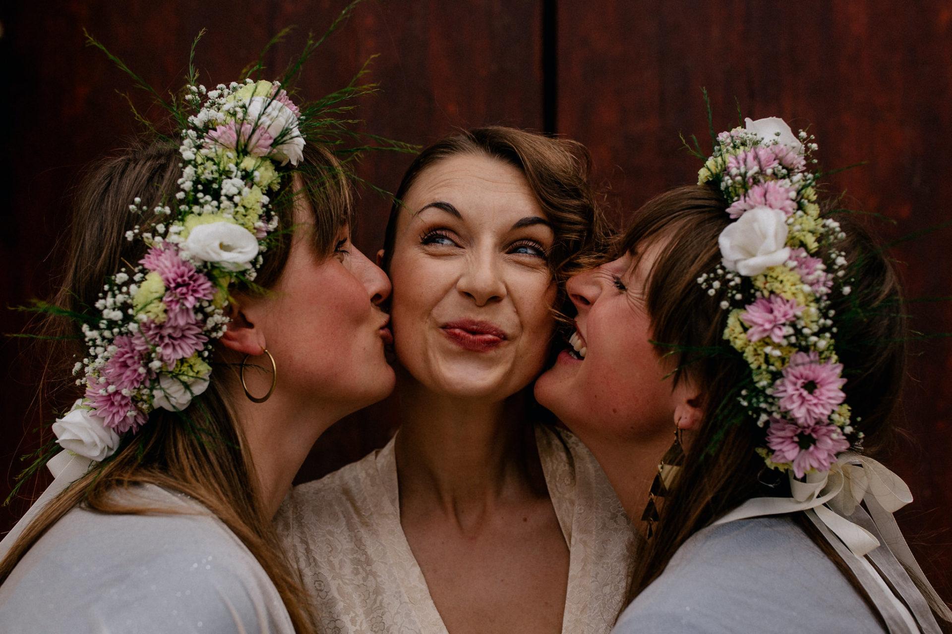 Hochzeitsfotograf Amalfi Küste-heiraten Italien-Portrait braut Brautjungfern