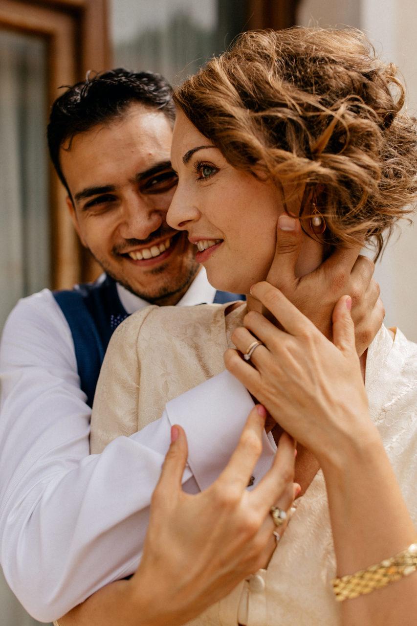Hochzeitsfotograf Amalfi Küste-heiraten Italien-Portrait Brautpaar