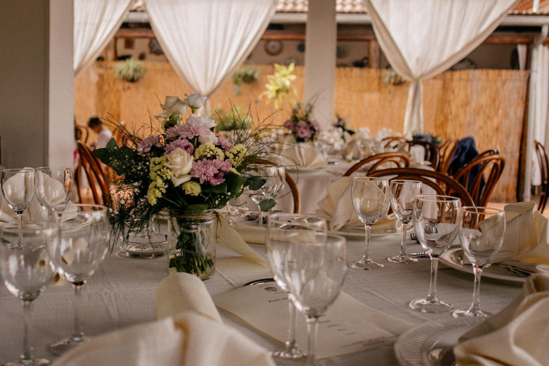 Hochzeitsfotograf Amalfi Küste-heiraten Italien-tischdekoration