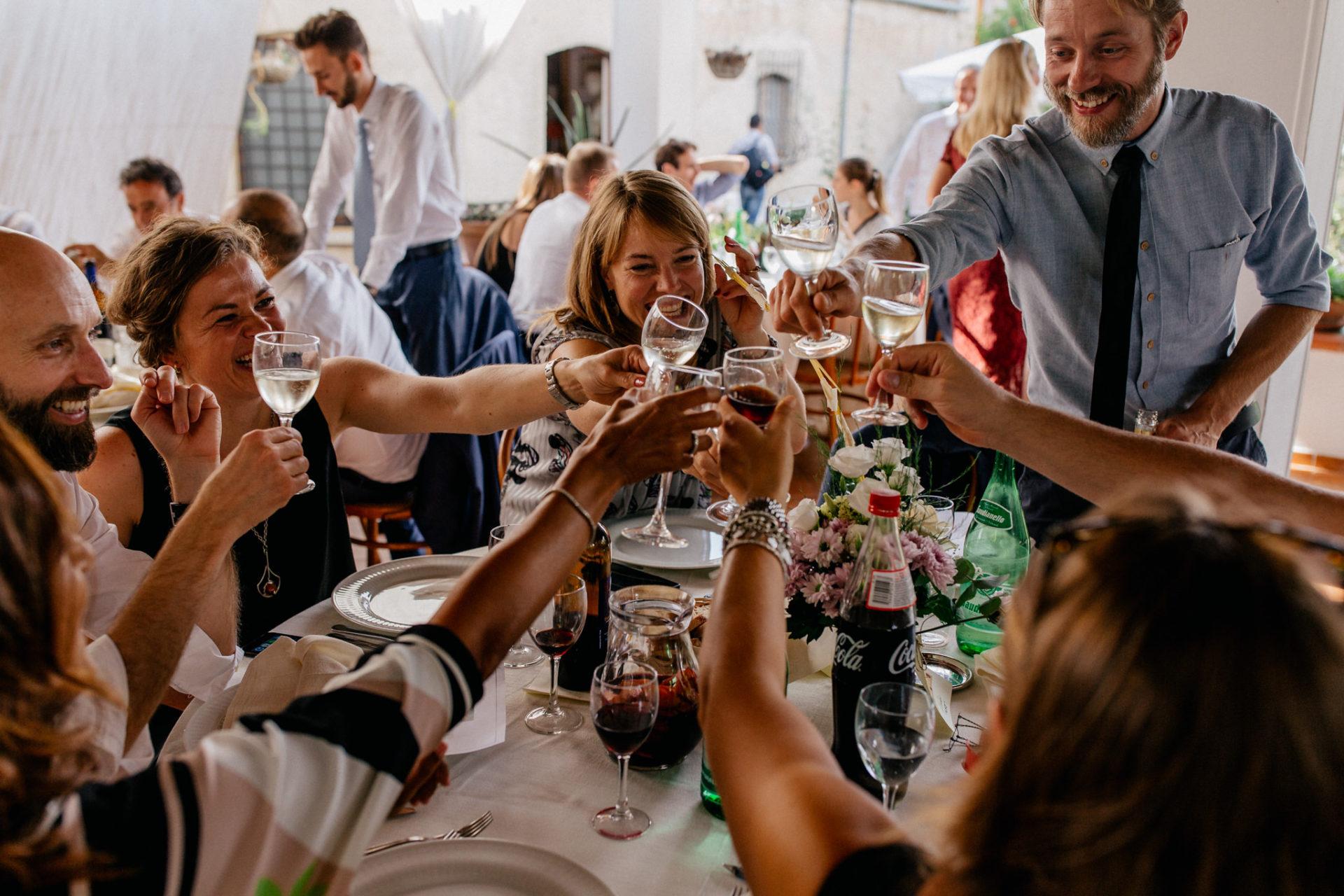 Hochzeitsfotograf Amalfi Küste-heiraten Italien-sektempfang