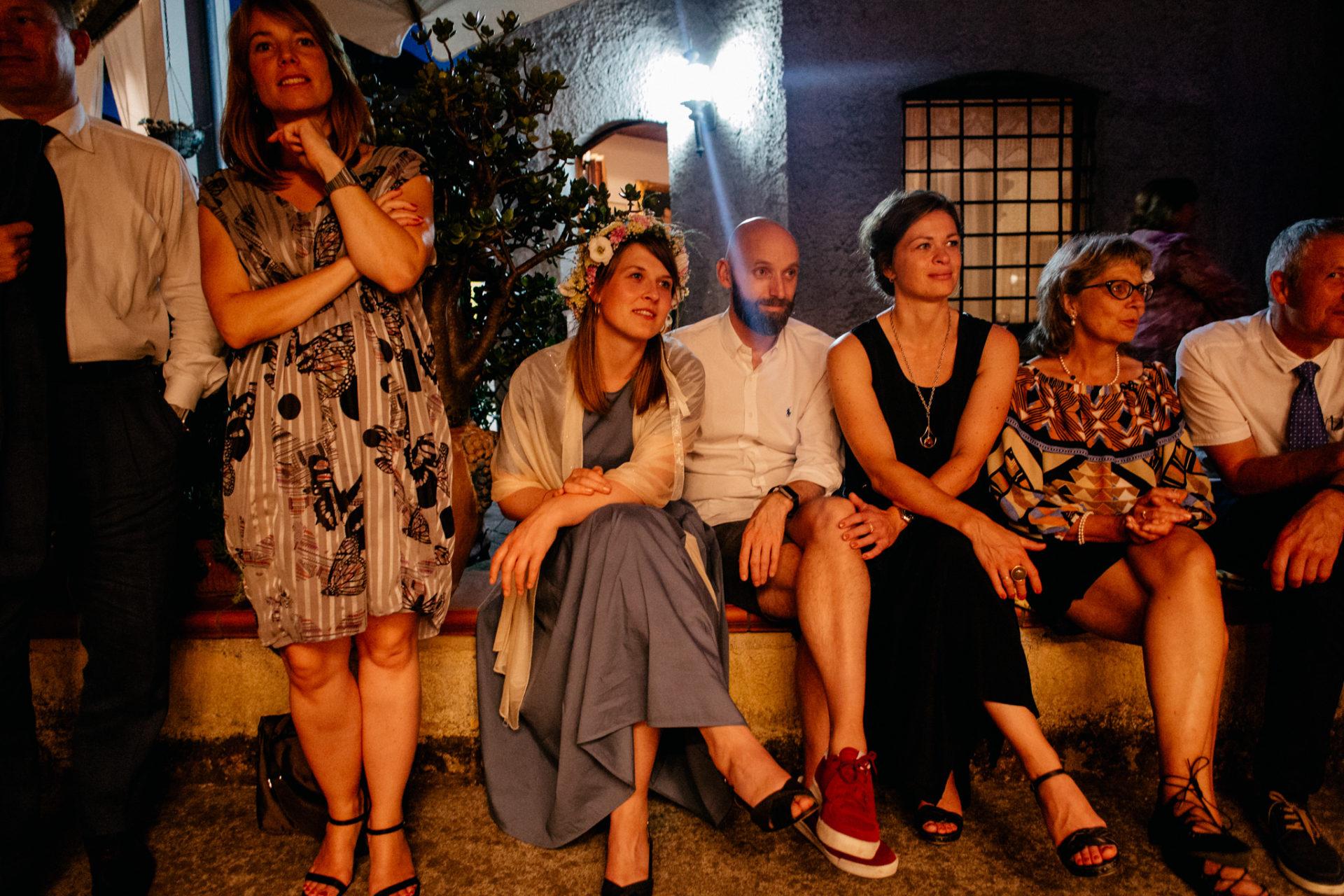 Hochzeitsfotograf Amalfi Küste-heiraten Italien-Party open air