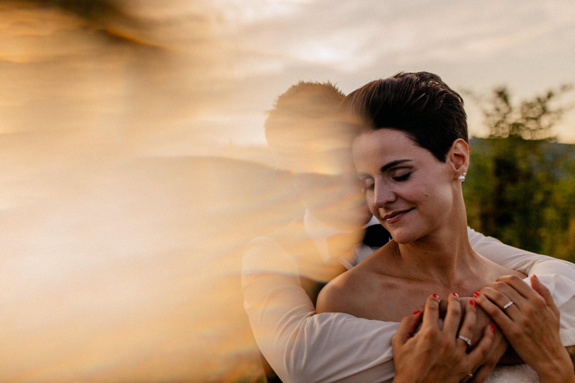 Weingut Fitz Ritter Hochzeitsfotograf-heiraten Pfalz-Sommerhochzeit Braut Bräutigam Sonnenuntergang