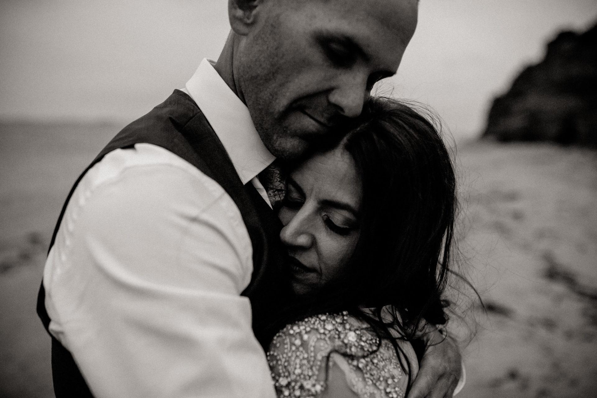 Hochzeitsfotograf Australien Melbourne-heiraten am Strand-Brautportrait