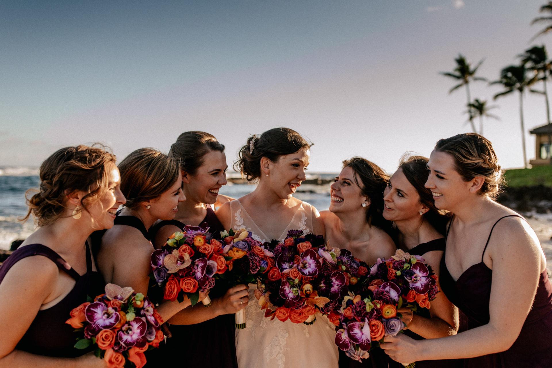 Hawaii Hochzeit-destination wedding kauai-Plantation Gardens Koloa Poipu-Trauzeugen