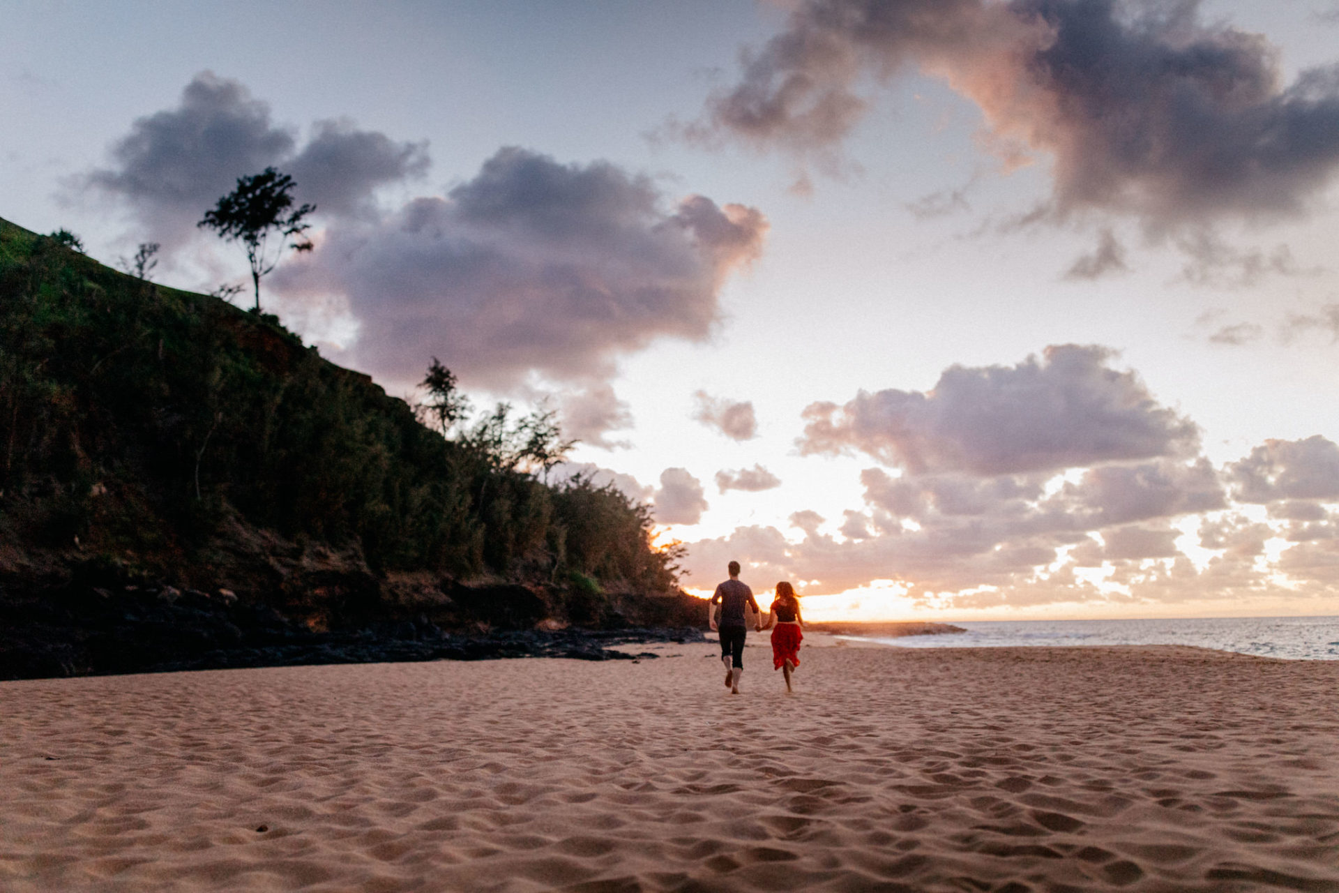 Hawaii Hochzeit-destination wedding kauai-flitterwochen-tropische Insel-Honeymoonfotos